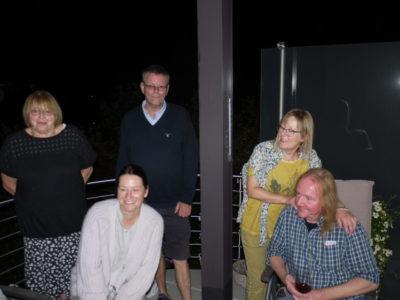 Stehend v. links n. rechts: Heidi Schmidt-Adler, Thomas Müller, Karin Gutschlag / Davor Katja Orlowski und Walter Gutschlag